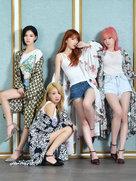 韩长腿女团Nine Muses高清写真 凹凸有致完美好身材-韩国女明星