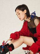 王子文最新杂志写真 诠释混搭风似古灵精怪少女-中国女明星