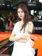 白色深V礼服甜美可爱性感气质摄影-chinajoy