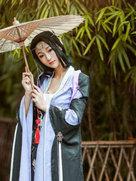 古装动漫 剑侠情缘网络版叁 秦风花姐 当战-cosplay女生