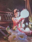 剑侠情缘网络版叁 七秀【七秀剑舞动四方 水云仙乐演宫商】-cosplay女生