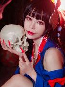 阴阳师手游 鬼女红叶【肤如凝脂 黑发如瀑】-cosplay女生