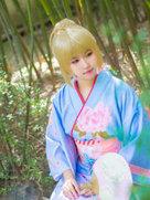 摄影动漫 没有什么比樱花更让人期待春天的了-cosplay女生