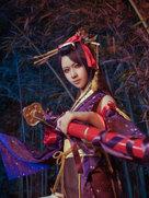 游戏动漫 刀剑乱舞 次郎太刀-cosplay女生
