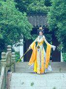 古代动漫 剑侠情缘网络版叁 藏剑 一叶暮云栖-cosplay女生