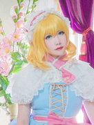 公主动漫 东方project 爱丽丝・玛格特罗依德-cosplay女生