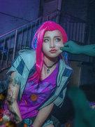 英雄联盟 金克丝丧尸杀手【金克丝的含义 就是金克丝】-cosplay女生