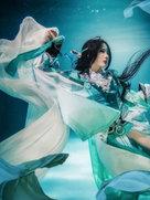 游戏动漫 剑侠情缘网络版叁 长歌门 雪河琴娘-cosplay女生