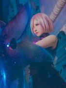 游戏动漫 玛修・基列莱特 荣光不败的雪花之盾-cosplay女生