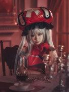 可爱动漫 玛丽・安托瓦内特 最喜欢玛丽的笑容了-cosplay女生