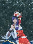 摄影动漫 东条希【祝大家都有个开心的圣诞节】-cosplay女生