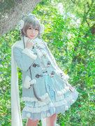 甜美动漫 洛天依 南北组 小海豹-cosplay女生