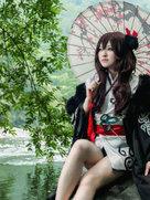 剑侠情缘网络版叁 源明雅X多多 唯美cosplay-cosplay女生