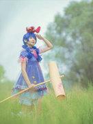 cosplay可爱摄影 东方project 清兰【兔已降落!】-cosplay女生