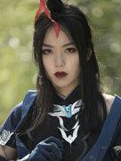 剑侠情缘网络版叁 燕云道姑 cosplay动漫女神-cosplay女生