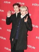 BTOB黑西装帅气亮相 搭配出众型格满分-韩国男明星