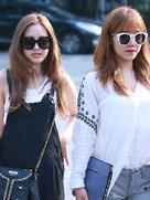 APINK街拍大片 彰显萌美气质-韩国女明星
