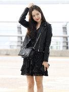 APINK街拍美照 闪耀与众不同时尚气质-韩国女明星