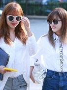 APINK清爽街拍 张张都是大片-韩国女明星