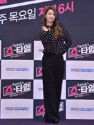 APINK现身发布会 笑容甜美大秀好身材-韩国女明星