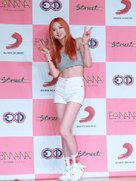 人气偶像EXID出席活动 美腿吸睛少女感爆棚-韩国女明星