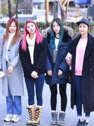 EXID高清街拍 人美腿长-韩国女明星