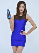 韩国女团EXID代言美照 穿性感短裙大秀美腿-韩国女明星