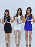 EXID代言照片曝光 美腿实力抢镜-韩国女明星