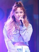 女团EXID登台献唱 引大批粉丝围观-韩国女明星