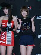 韩国女团EXID出席活动 短裙美腿迷倒众网友-韩国女明星