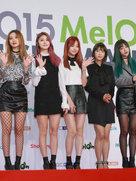 女团EXID亮相音乐节 青春力量势不可挡-韩国女明星