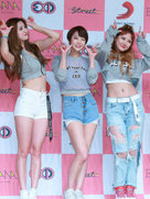 EXID与粉丝互动超有爱 甜美又软萌-韩国女明星