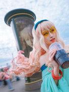 萌妹子cosplay 超�r空要塞 旧金山约会巡礼-cosplay女生