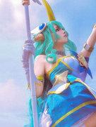 好看的cosplay 英雄联盟 众星之子-cosplay女生
