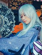 蔷薇少女 水银灯 大正浪漫 cosplay摄影和服-cosplay女生