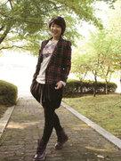 朴信惠短发造型写真曝光 青春靓丽笑容灿烂-韩国女明星
