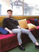 大长腿欧巴朴叙俊写真 自信洒脱魅力难挡-韩国男明星