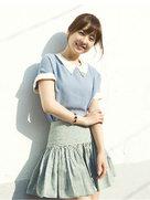 朴宝英最新写真曝光 眉目带笑甜美可人-韩国女明星