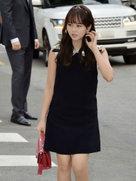 """金所炫时尚街拍 从头到脚都弥漫着""""fashion""""气息-韩国女明星"""