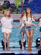 少女时代演唱会嗨翻天 尽显偶像魅力-韩国女明星