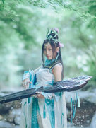 剑侠情缘网络版叁 长歌琴娘 高清chinajoy摄影-cosplay女生