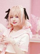 萌妹子cosplay 阿斯托尔福-cosplay女生