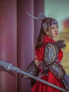cosplay�z影 ��b情��W�j版叁 天策�娘-cosplay女生