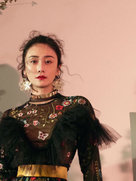 刘芸最新时尚大片 复古与时尚潮流与时髦-广告大片