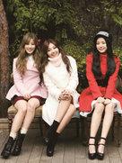 APINK复古造型写真 质感十足衣品再提升-韩国女明星