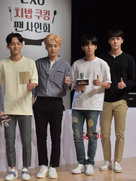 EXO亮相综艺节目 大长腿实力抢镜-韩国男明星