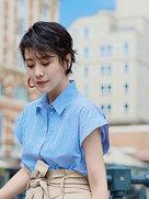 海清曝光最新夏日写真 气质清新又减龄-中国女明星
