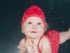 萌萌嗒 超可爱的水底婴儿摄影-猎奇图片