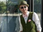 他是世界上最老最时髦的爷爷 坐地铁都比你潮-服饰搭配