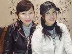 刘晓庆扎双马尾穿白衣与友聚餐-娱乐组图